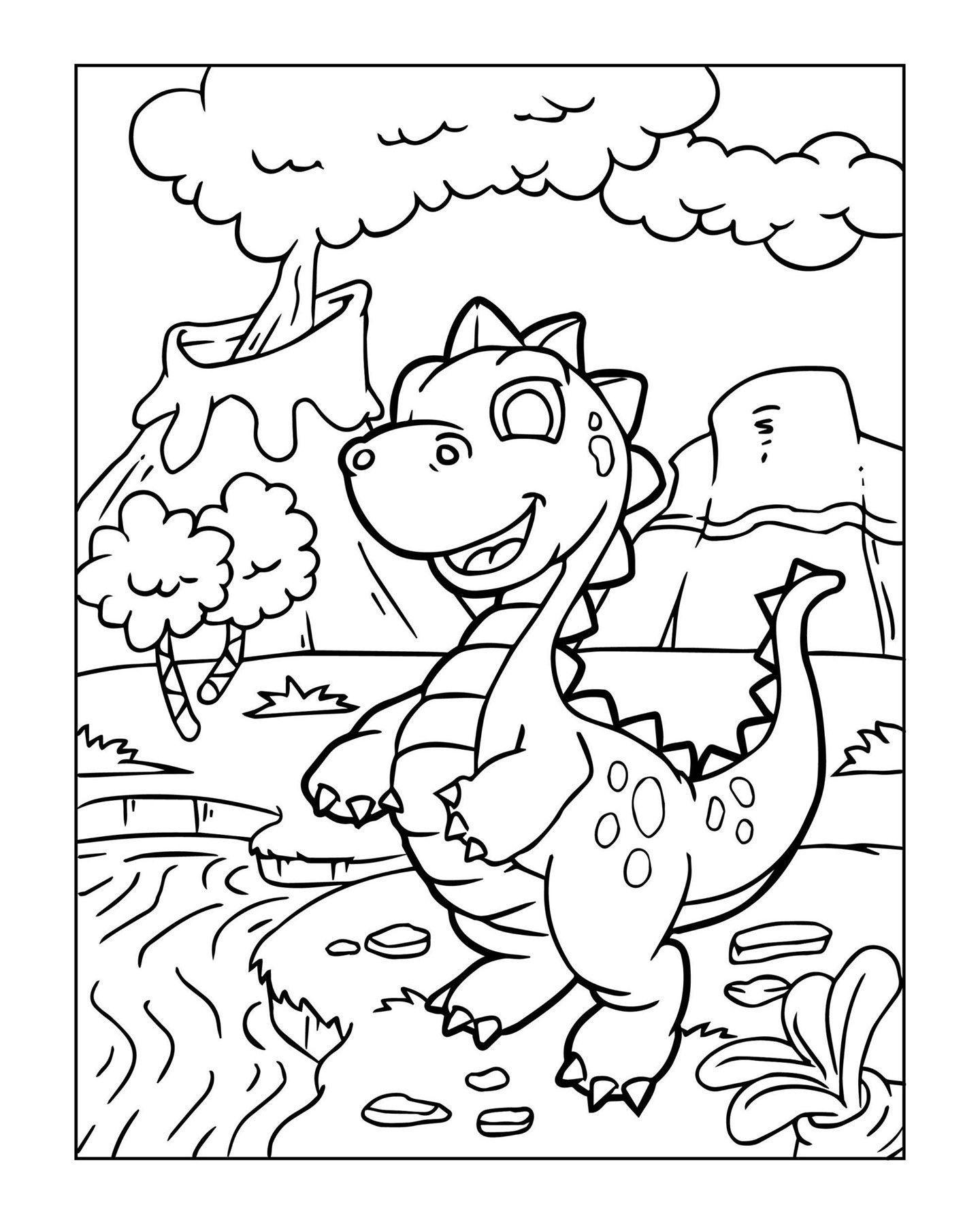dinosaurier malvorlagen klein  bilder ausmalen