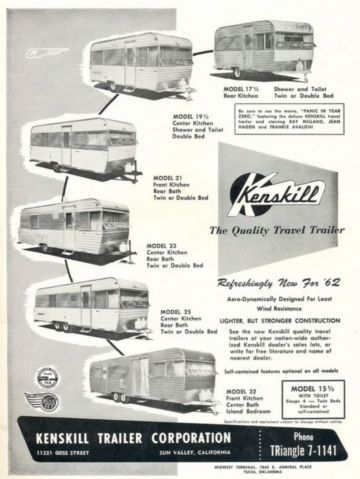 Kenskill Tin Can Tourists Wiki Travel Trailers Vintage Travel