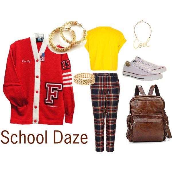 """School Daze"" by shellishells on Polyvore"