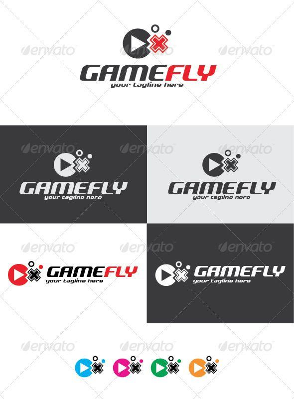 Game Fly Logo Pinterest Logos Logo Templates And Template