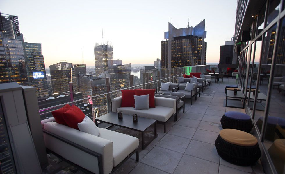 30 bares que tocan el cielo ROOFTOP Pinterest Times square and