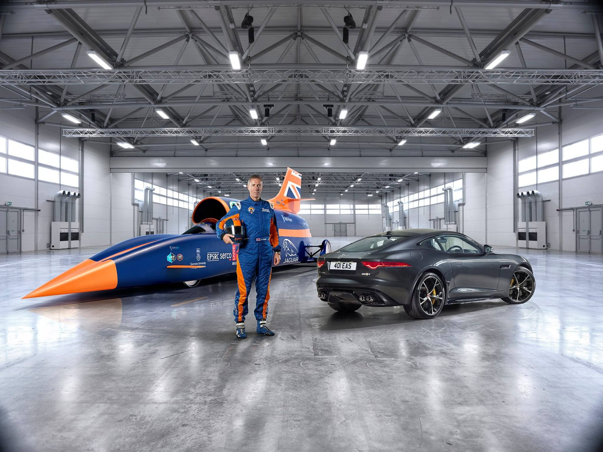 Bloodhound Ssc World Record Speed Car Car In The World Bugatti Veyron Super Sport Fast Cars
