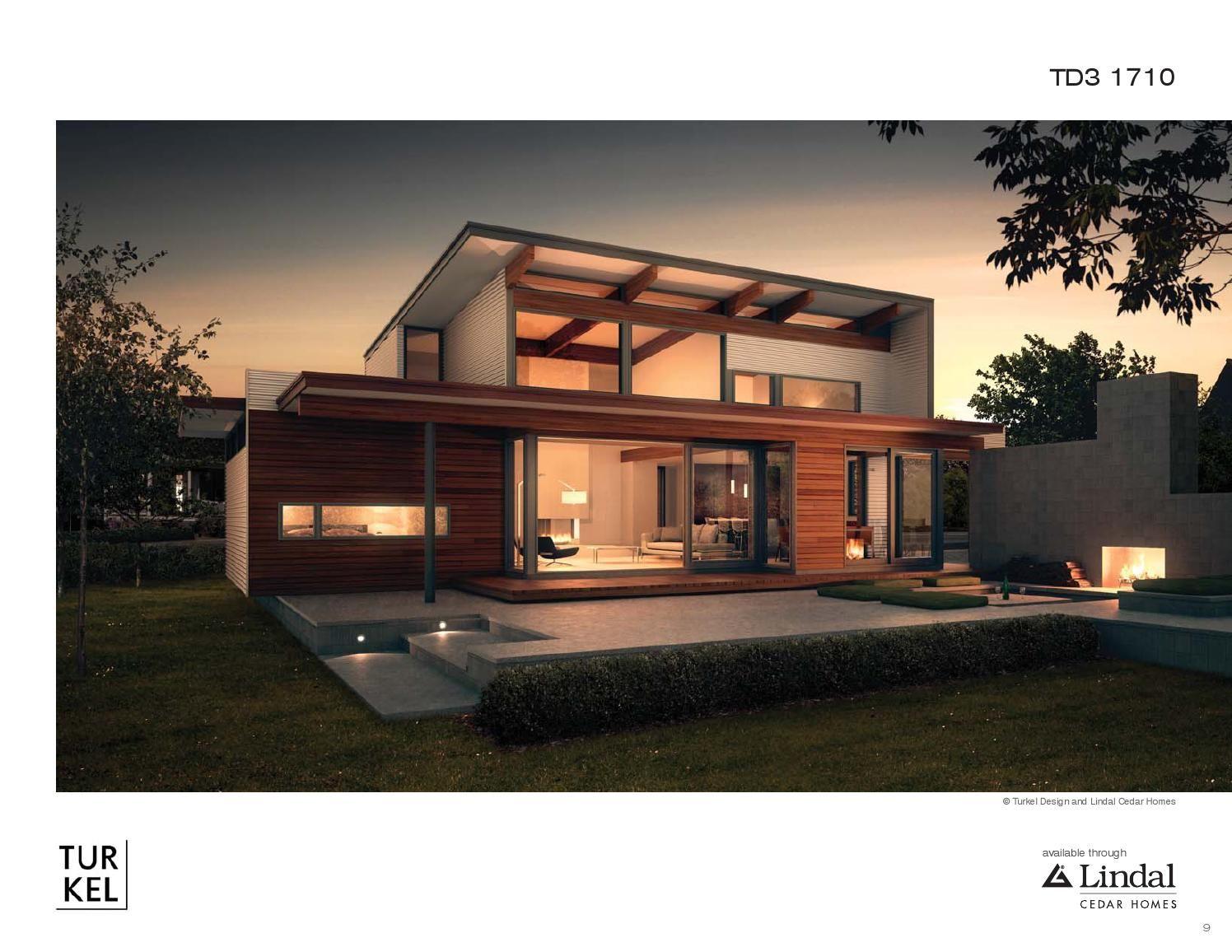 ISSUU - Turkel Design Plan Library by Lindal Cedar Homes