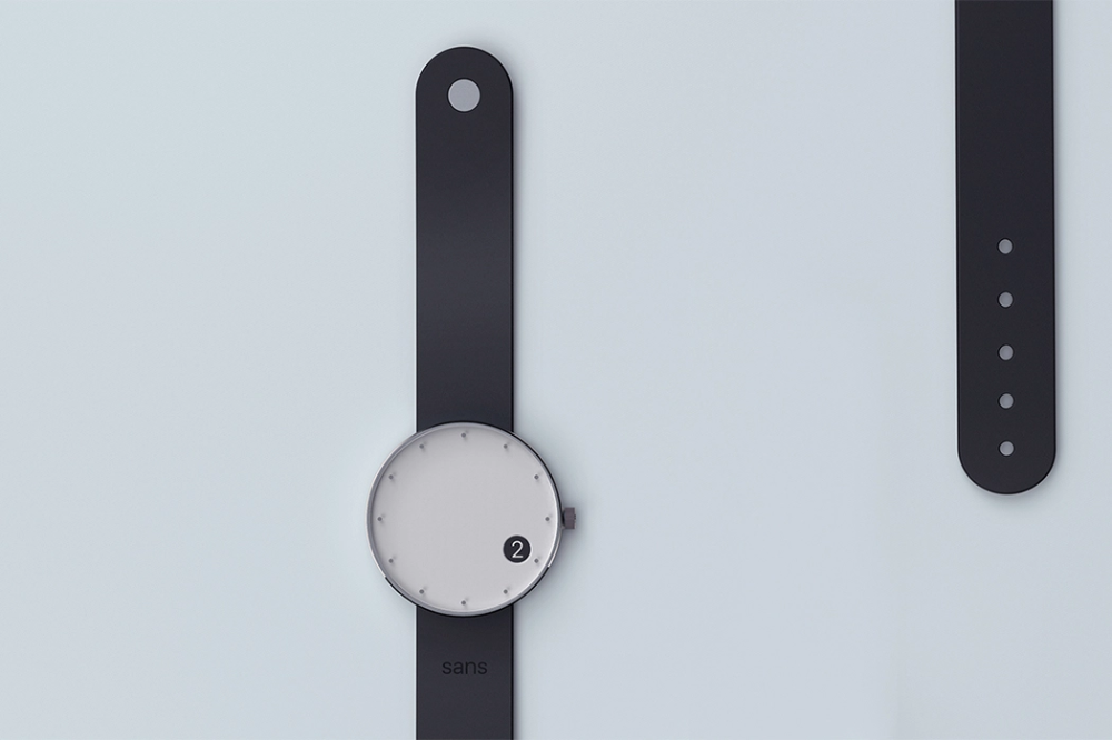 One Time Telling Dot Is This Minimal Wrist Watch S Most Defining Feature Yanko Design Ornate Details One Time Wrist Watch