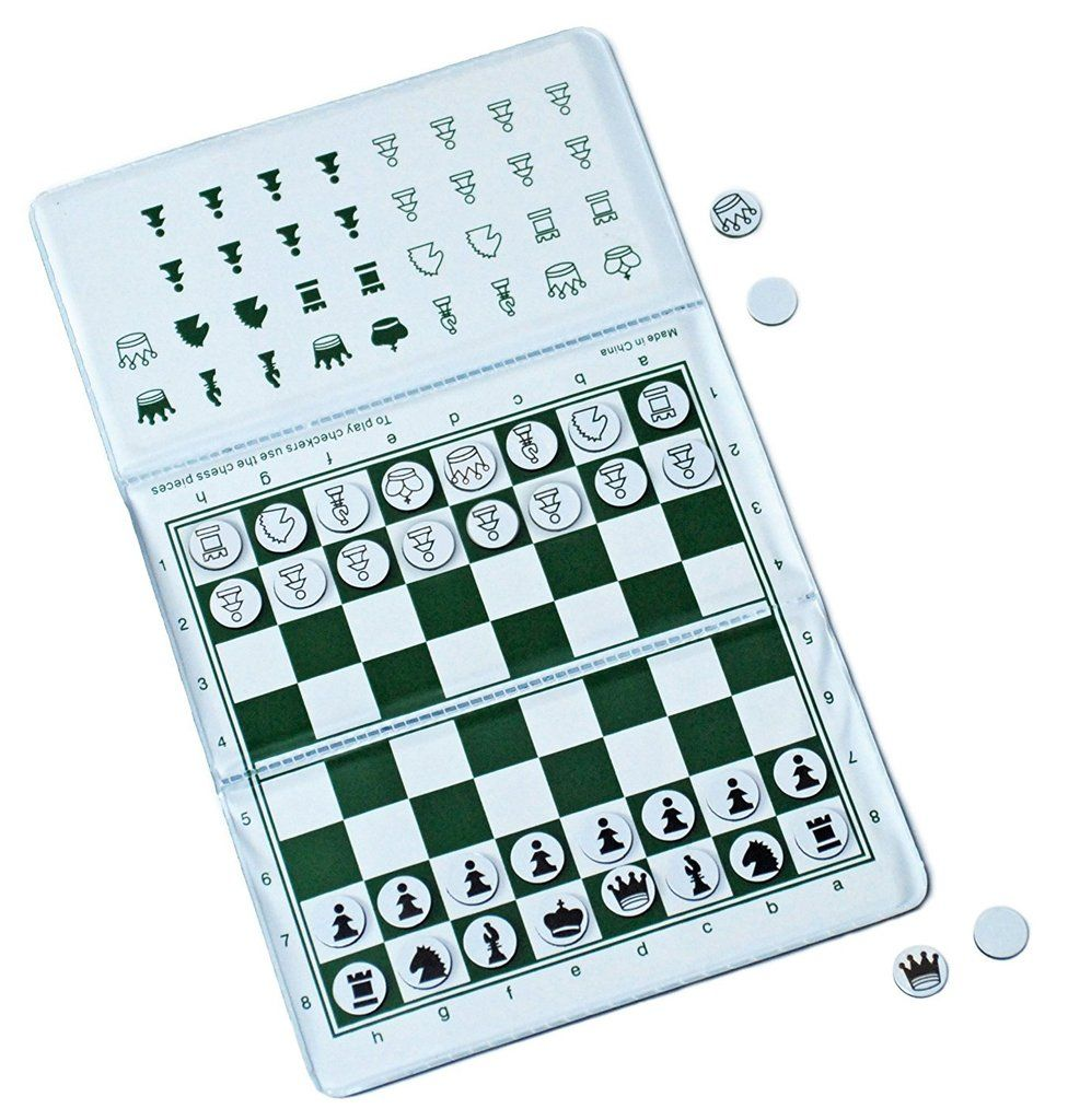 Ultimate Checkbook Chess Set (New & Improved) by
