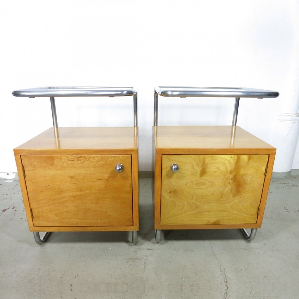 For Set Of Two Bedside Tables