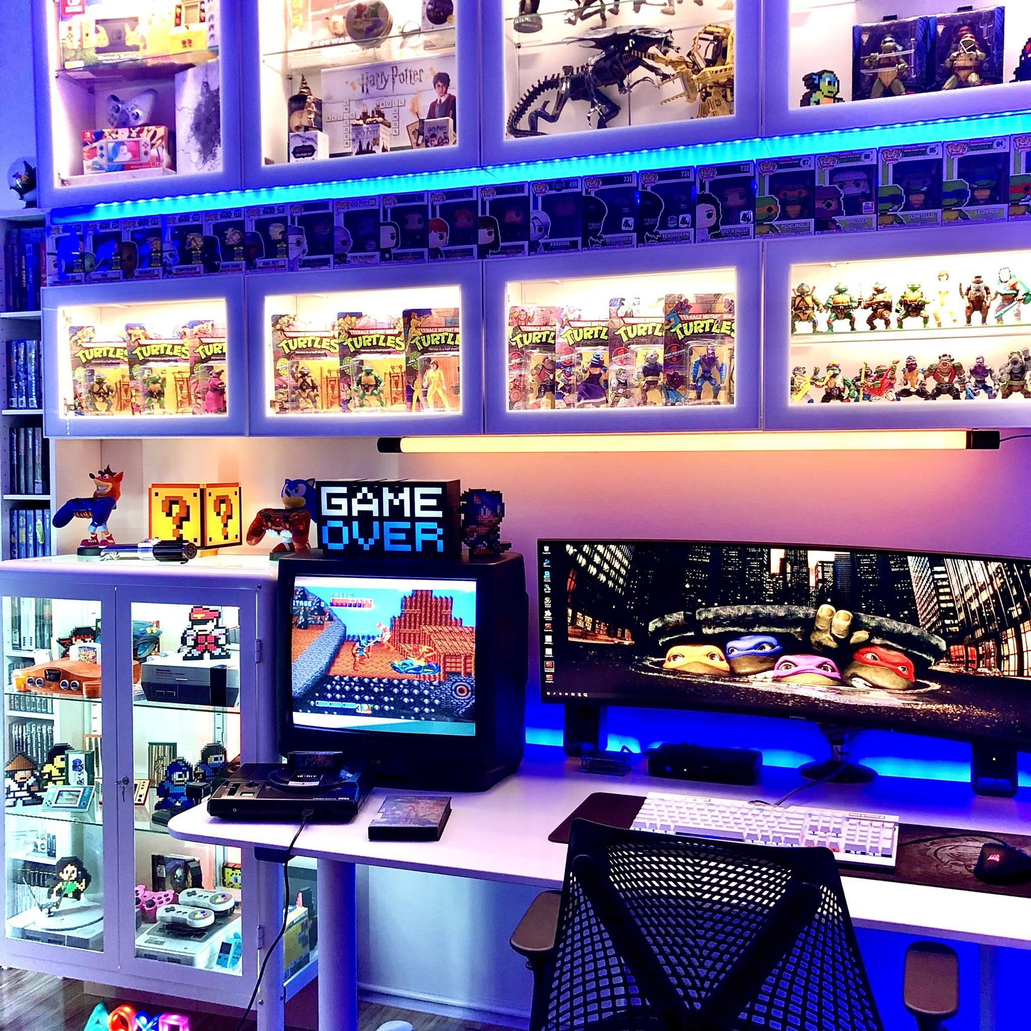 Gaming & Toys Battlestation in 2020 Video game rooms