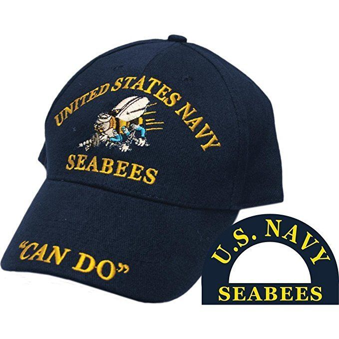 U.S Air /& Land Dark Navy Blue Embroidered Cap Hat CP00208 Navy USN By Sea
