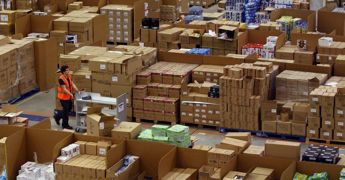Amazon Now Has More Than 100 000 Employees Warehouse Design Warehouse Amazon