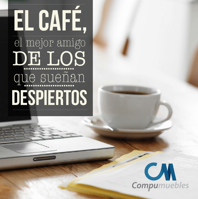 #DiaDelCafé ¡Bebida indispensable en toda oficina! ¿Te antojaste de uno?  www.compumuebles.com
