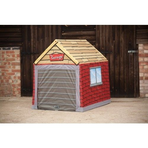 Outdoor Tent Garage : Garage style ride on car protection storage play tent