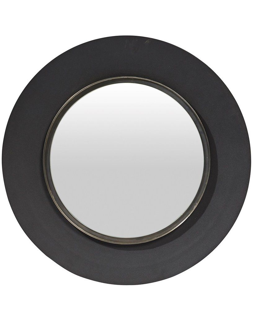 Round Wall Mirror Black | http://drrw.us | Pinterest | Black ...