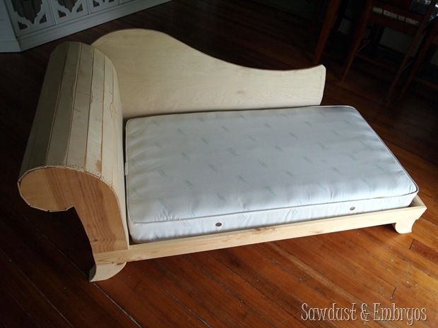 Diy Toddler Bed Fainting Couch Part 2 Diy Toddler Bed Diy