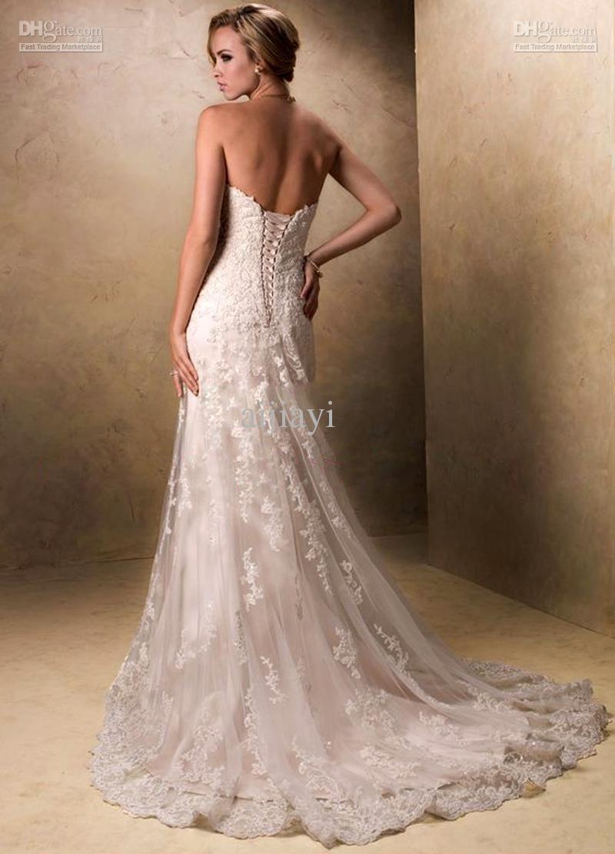 Maggie Sottero Wedding Dresses | Pinterest | Lace wedding dresses ...