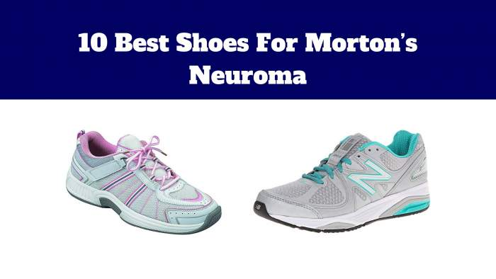 10 Best Shoes For Morton's Neuroma
