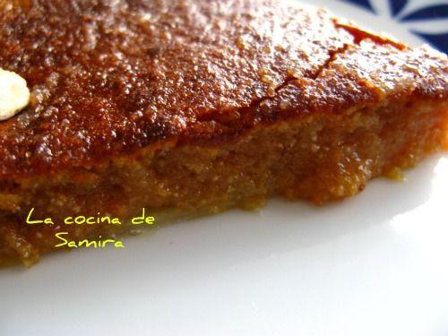 La cocina de Samira: Tarta de almendra