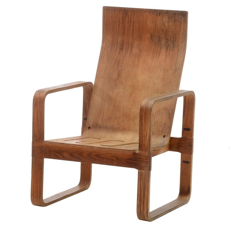 Plywood Lounge Chair By Thonet. Bentwood ...