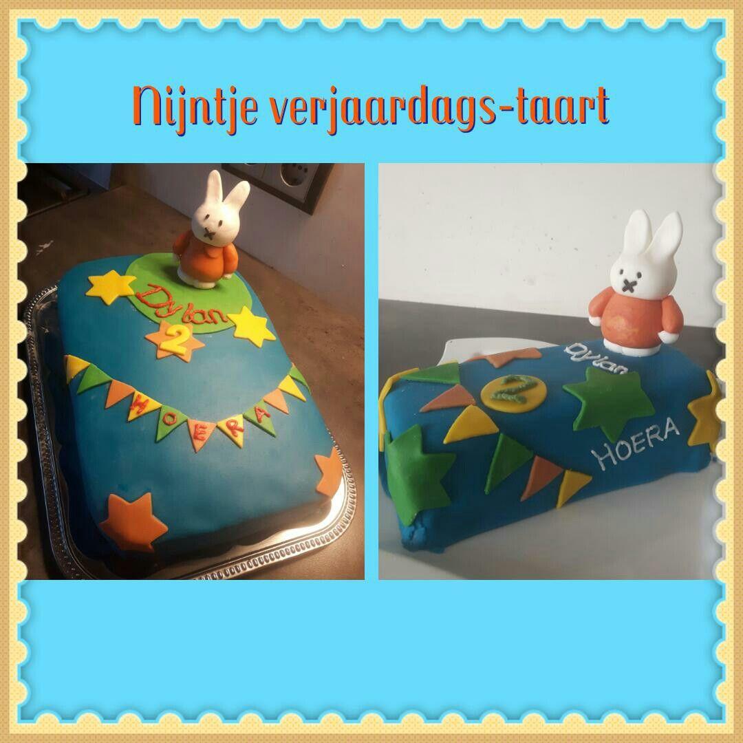 Nijntje verjaardags-taart