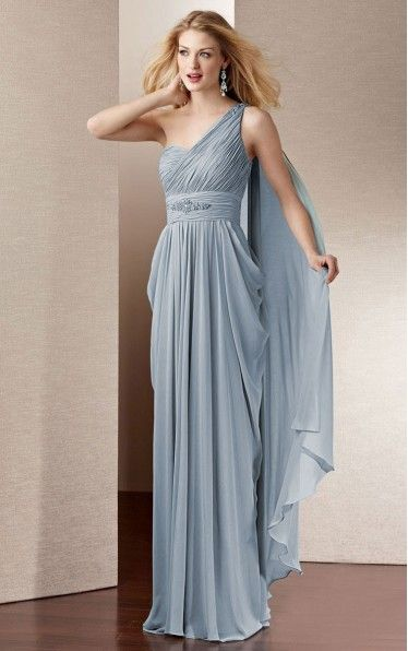 Find out the latest Chiffon One Shoulder A-line Floor-length Dress From Dressesy. From evening dresses to prom dresses, cocktail dresses to maxi dresses and more. Shop one from thousands of dresses here.