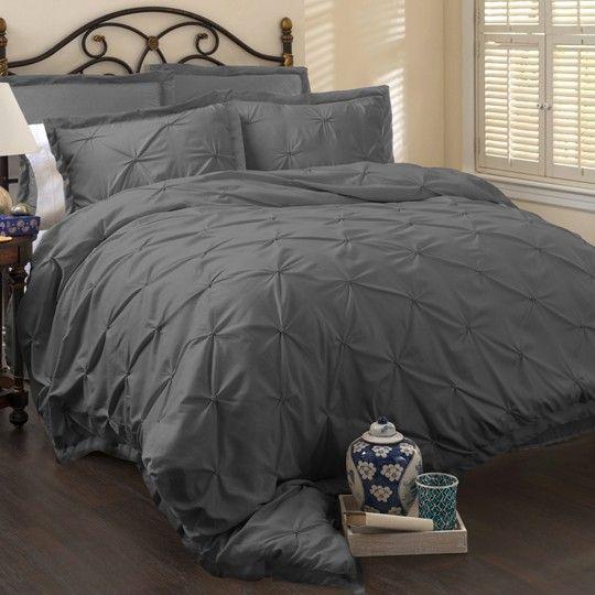 Annaslines Lux Grey 6 Piece Comforter Set Comforter Sets Home Bed Linens Luxury