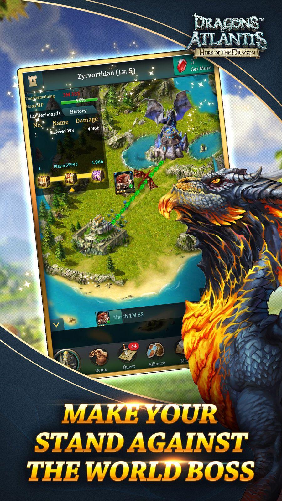 Dragons of Atlantis #Simulation#Entertainment#ios#Strategy | Game