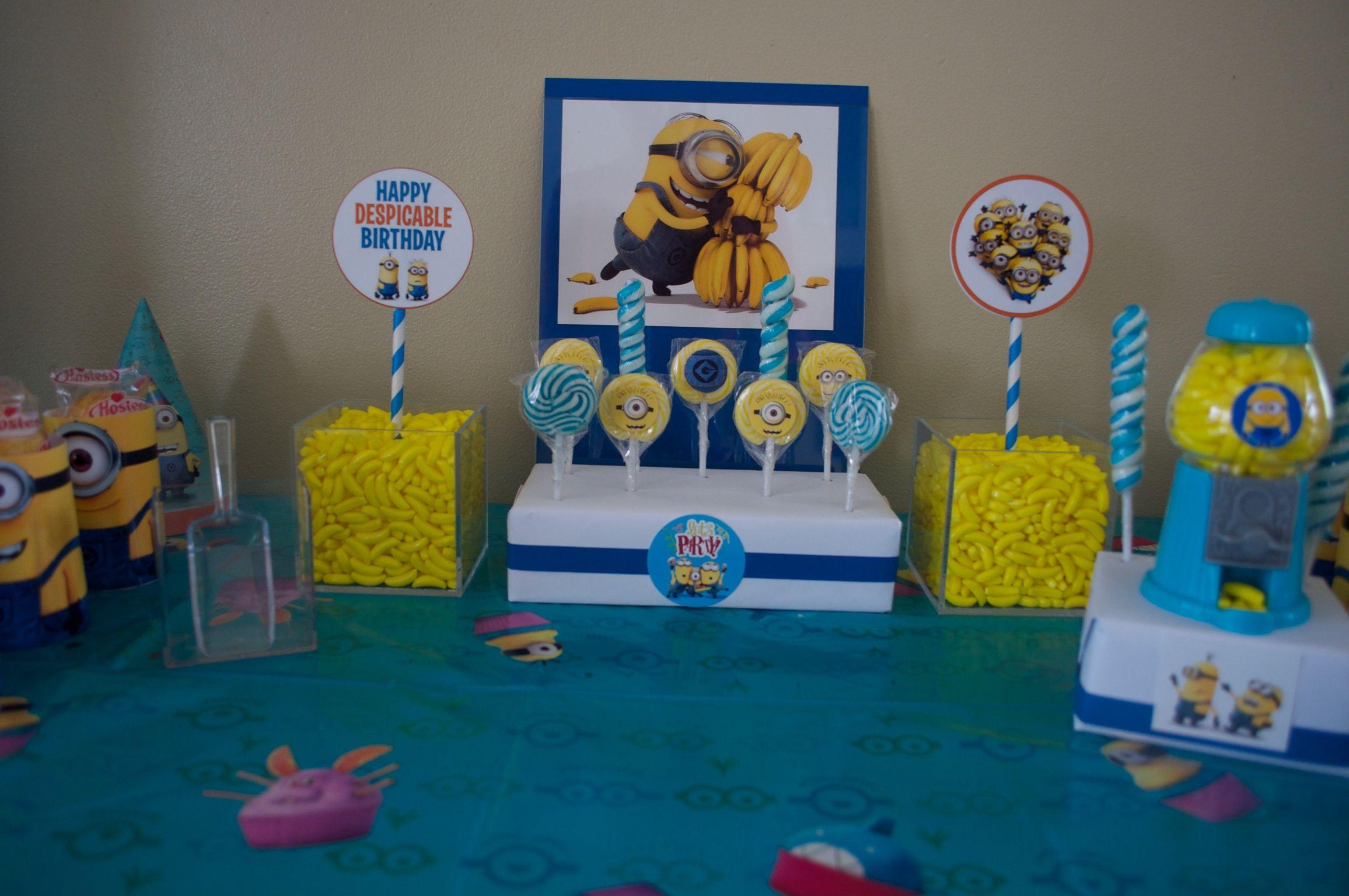 Candy Bar De Minions
