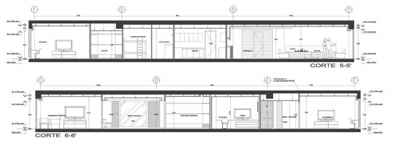 Precious View 0f The Architecture Drawing Plan Of