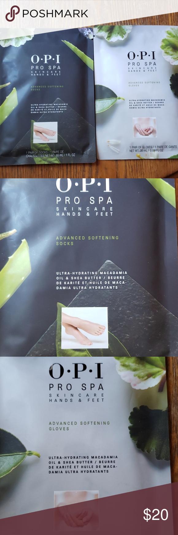 Pro Spa Opi Softening Hands Feet Duo Opi Crochet Hair Styles Macadamia Oil