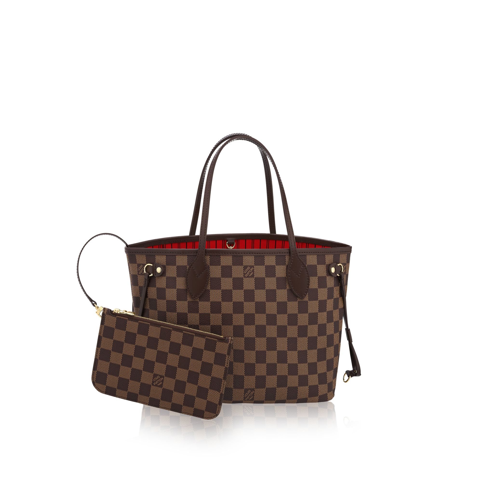 Neverfull PM LG Damier Ebene via Louis Vuitton  b450758db824e