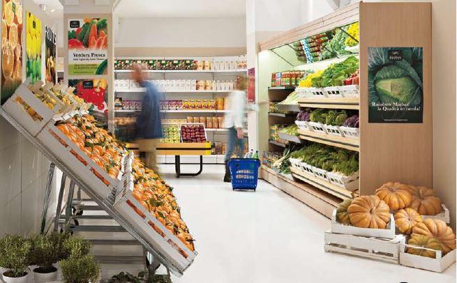 Equipamiento comercial expositor metalico para frutas - Estanterias para fruta ...
