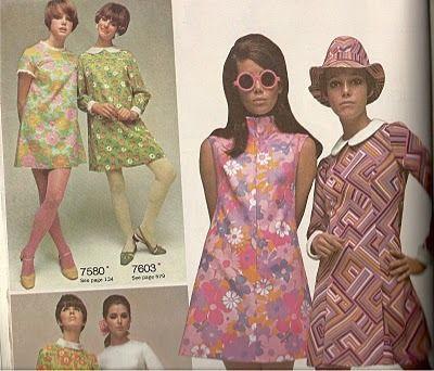60s 70s dress styles