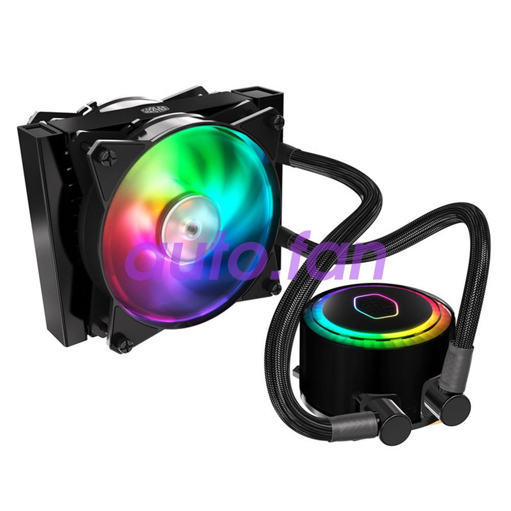 New Extreme G120rgb Cpu Water Cooling Radiator Tr4 Fan 1950x 360