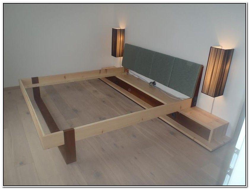 indirekte beleuchtung bett selber bauen modernes wohnen. Black Bedroom Furniture Sets. Home Design Ideas