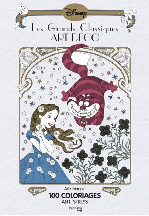 Coloriage Anti Stress Disney.Les Grands Classiques Art Deco 100 Coloriages Anti Stress In 2019