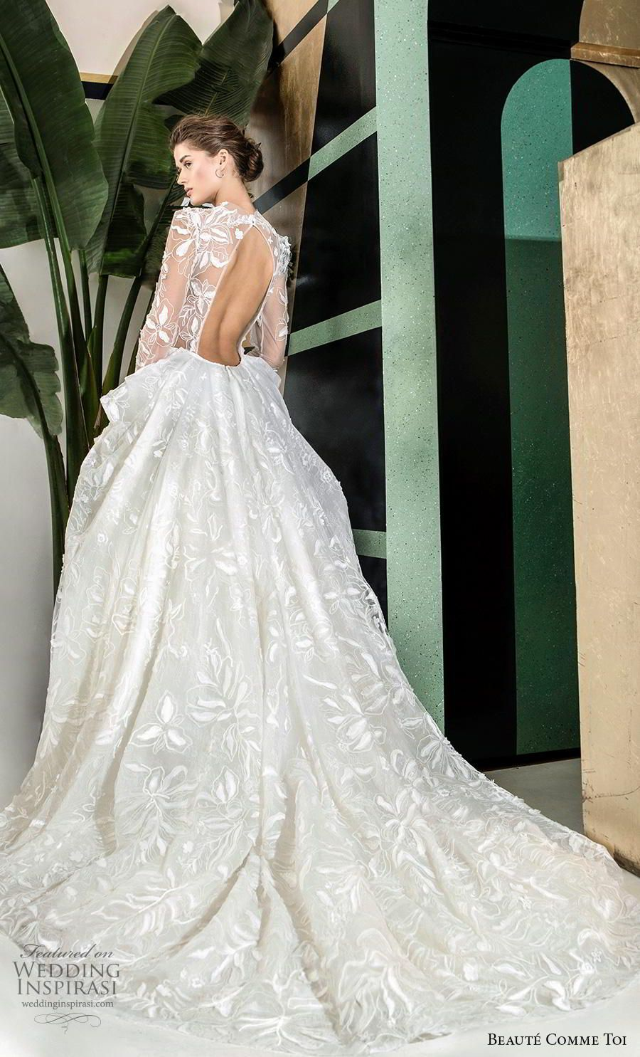 Breathtaking Modern Vintage Wedding Dresses By Beaute Comme Toi Fall Winter 2019 Bridal Collection Wedding Inspirasi Wedding Dresses Vintage Wedding Dresses Simple Wedding Dresses [ 1485 x 900 Pixel ]