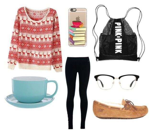 """""""Last day of school"""" by hayden-neuman on Polyvore featuring NIKE, UGG Australia, Zac Posen and Casetify"""