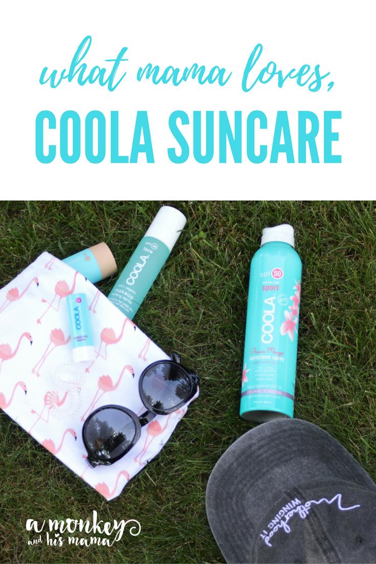 COOLA Suncare, a fantastic new organic suncare product // An honest review of COOLA Sunscreen Spary // AD // #momsmeet #coolasuncare