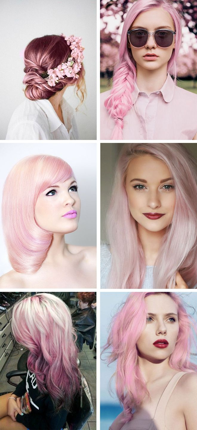 I Love Pink Hair By Elblogdelupi Cool Hair Pinterest