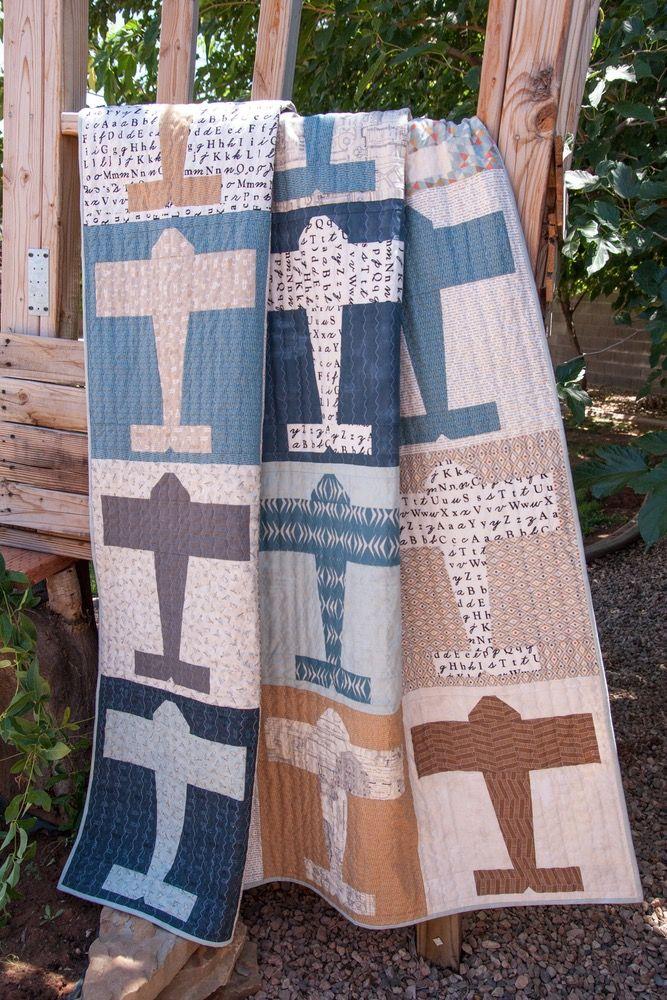 152 Aviator - PDF Pattern | Quilts | Patterns | Boys quilt