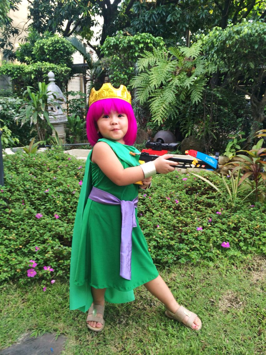 DIY Archer Queen Costume From Clash Of Clans Diy Halloween