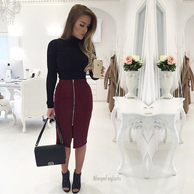 laubreym22 outfit bleistiftrock sportlich elegant und. Black Bedroom Furniture Sets. Home Design Ideas