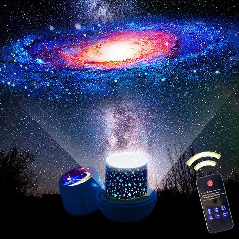 Led Starry Sky Projector Lamp Star Light Star Night Light Night Light Kids Night Light Projector