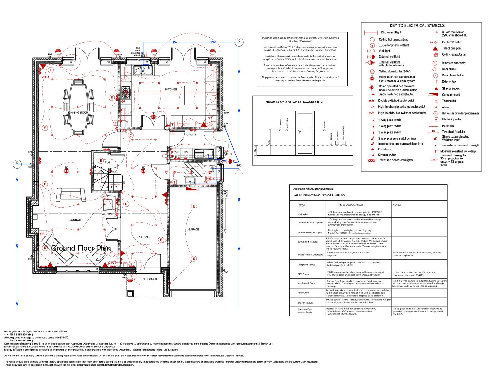 electrical layout examples - Google Search | Electrical | Pinterest ...