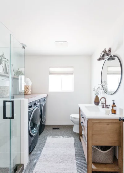 Laundry Bathroom Combo How To Form The Perfect Team Laundry Room Bathroom Comb Bathroom In 2020 Laundry Room Bathroom Laundry Bathroom Combo Laundry In Bathroom