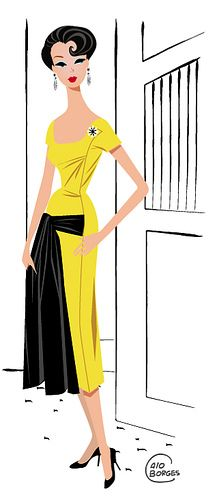 Barbie yellow by Calo Borges