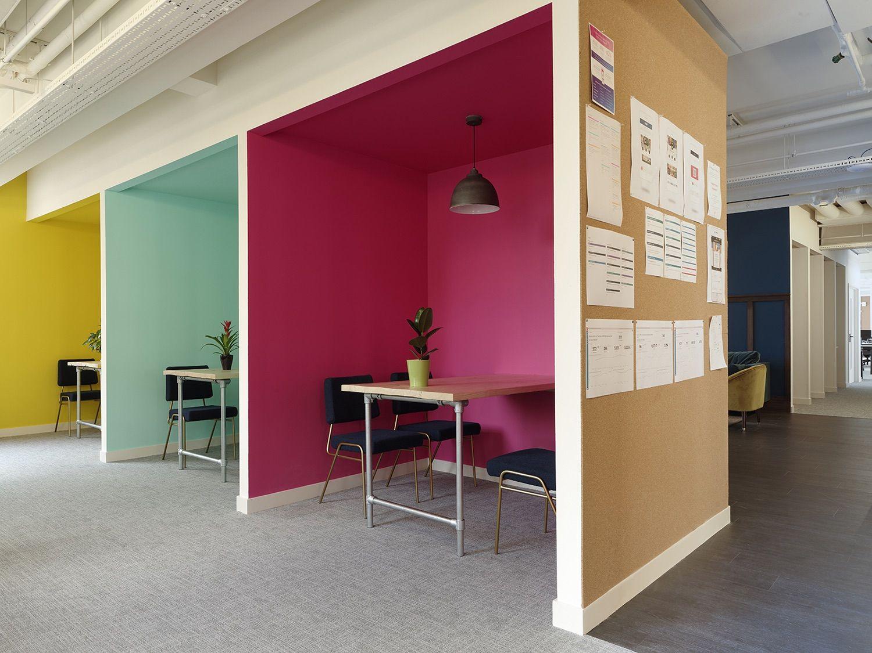 Inside Yoyo Wallet S Cool London Office Small Office Design Office Interior Design Office Design