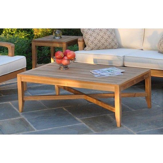 Kingsley Bate: Elegant Outdoor Furniture. Somerset #teak #coffeetable. Www.