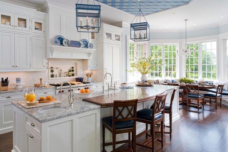 cucina-stile-inglese-open-space | INTERIOR DESIGN | Pinterest