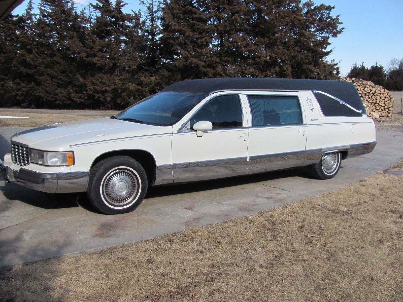 1994 cadillac deville hearse for sale