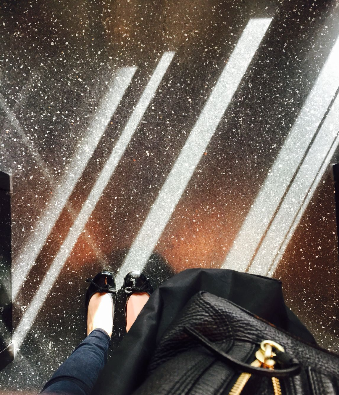 Leave a sparkle everywhere you go . Sparkling floors